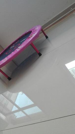 天鑫新品40寸织带蹦蹦床 儿童家用室内折叠弹跳床小跳床跳跳床四折小猪款 粉色50寸 晒单图