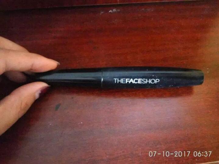 菲诗小铺(The Faceshop) 黑杆防水睫毛膏7g 1#纤长型 晒单图