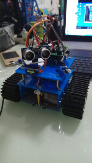 机器人套件 arduino履带小车底盘 循迹 避障遥控WIIF智能小车 C套餐蓝牙+wifi 原装UNO 晒单图