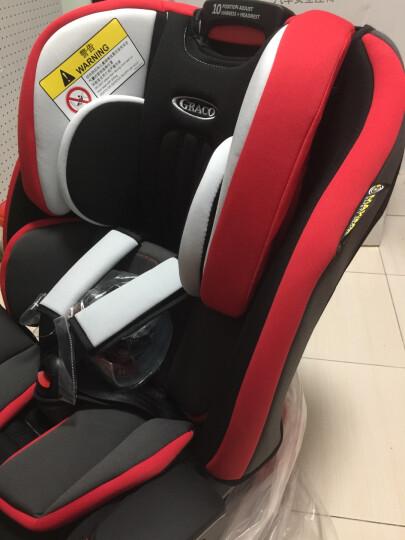 葛莱 美国GRACO 鹦鹉螺系列 婴儿童汽车安全座椅8J39 9月-12岁升级ISOFIX 柠檬黄 晒单图