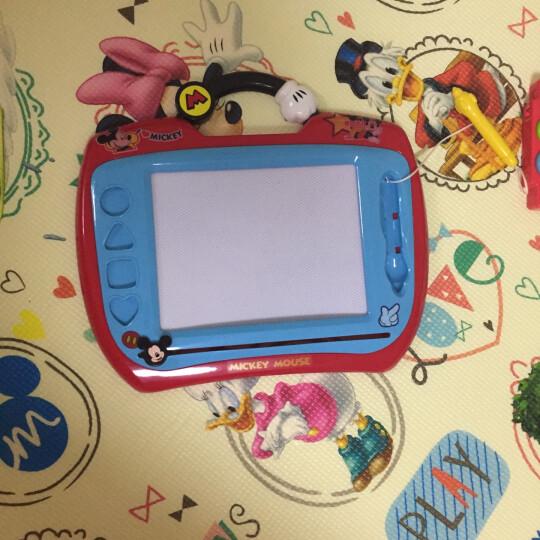 迪士尼画板 彩色涂鸦板 磁性学习画板宝宝写字板儿童玩具-赛车总动员画板38DF2407 晒单图