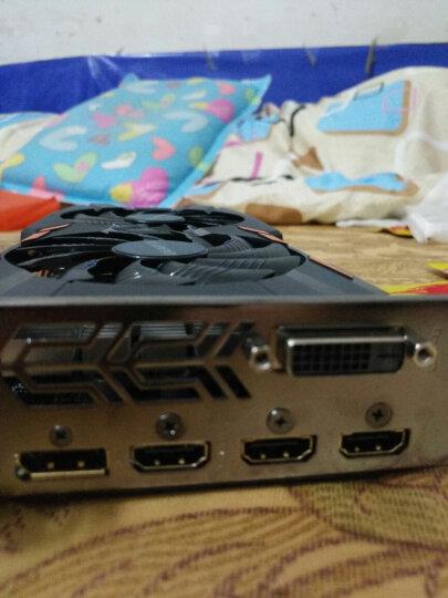 技嘉(GIGABYTE)GeForce GTX 1050Ti WF2OC 1328-1442MHz/7008MHz 4G/128bit游戏显卡 晒单图