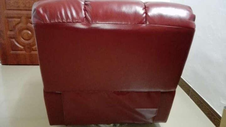 意梵尼 功能沙发 飞机舱 真皮沙发 躺椅 电动智能单人小沙发 摇动旋转 单人沙发 手动伸展+摇动+旋转 晒单图