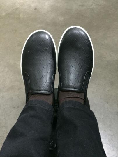 ECCO爱步运动鞋女 护士鞋白色乐福鞋女百搭休闲平底女单鞋 艾米241073 黑色24107359526 38 晒单图