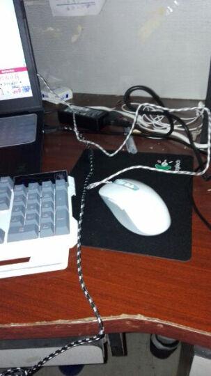赛德斯 发光有线键盘鼠标游戏套装可选键鼠耳机套 io1.1牧马人机械手感彩虹背光LOL套件 刃甲三色背光键盘+灵月游戏七色背光鼠 晒单图