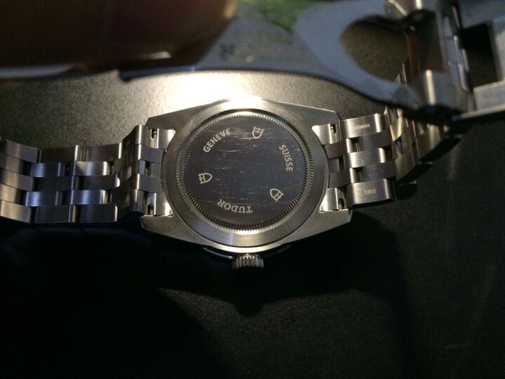 帝舵(TUDOR)手表 骏珏系列机械男表56000-68060银色提花盘10钻 晒单图