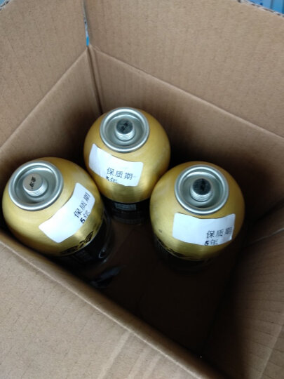 金冷 HFC-134A 汽车空调制冷剂/冷媒/环保雪种 300克/罐【两瓶】 晒单图