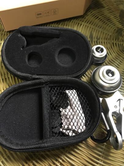 猎奇(LIEQI)LQ-050 手机镜头 广角微距鱼眼套装 黑色 苹果iphone华为小米通用自拍照相单反外置摄像头 晒单图
