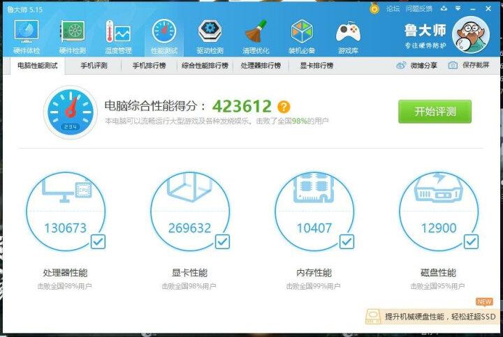 三星(SAMSUNG) 850 EVO 500G M.2 固态硬盘 晒单图