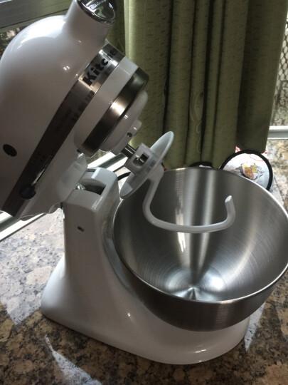 凯膳怡(KitchenAid)料理机和面机厨师机家用揉面打蛋器5KSM95CWH牛奶白 晒单图