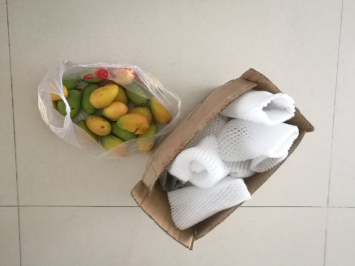 果然鲜 广西小台农 芒果4.5斤 单果60-100g 芒果水果 晒单图