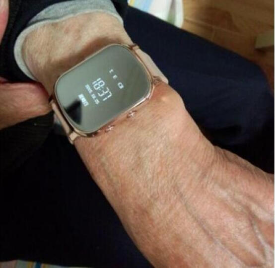 DMDG 老人儿童电话手表 智能手表定位通话手表手机 GPS远程定位追踪防丢定位手环 时尚款土豪金 晒单图