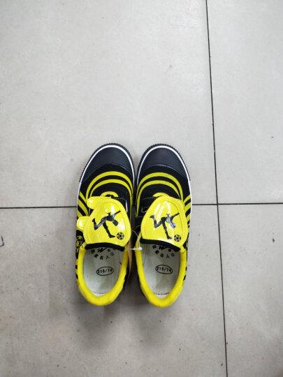 双星儿童足球鞋男成人碎钉长钉人造草地小学生健身鞋短钉室外青少年帆布足球训练鞋子 DSA828 黑色828款 33 晒单图