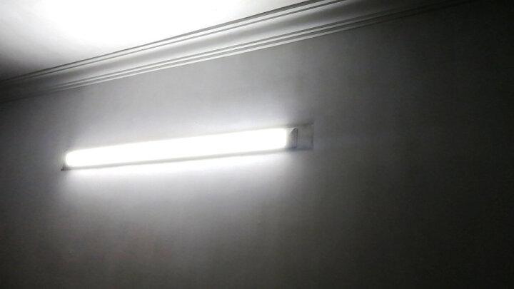 众凰LED灯管防尘灯三防灯净化灯一体化支架灯办公长条灯双管日光灯带罩仓库1.2米吸顶灯 1.2米40W 正白光 晒单图