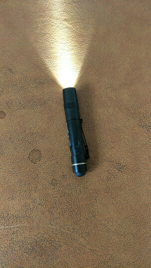 【会员专享plus】TANK007探客小手电筒白光LED笔帽灯 医用瞳孔口腔笔防水 PA01 一种亮度官方标配(手电+AAA电池+铁盒) 晒单图