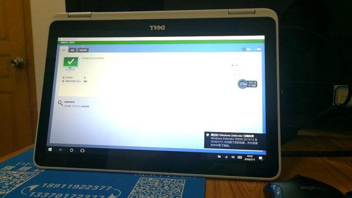 戴尔(DELL) 灵越燃7000 ii 轻薄本学生办公15.6英寸窄边框手提笔记本电脑 4G独显 i7/八代/8G/128G/1TB标配 蓝色 晒单图