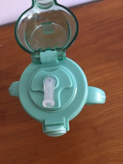 babycare宝宝学饮杯儿童保温水杯婴儿水杯带手柄宝宝水杯学饮保温杯 浅嗬绿240ml 晒单图