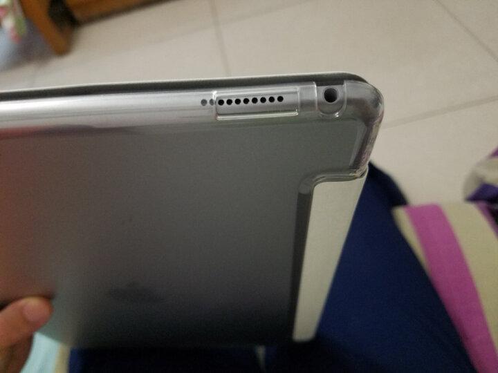 优加 苹果ipad Pro12.9英寸保护套 2015年款平板电脑保护壳 三折轻薄防摔休眠支架皮套 白色 晒单图
