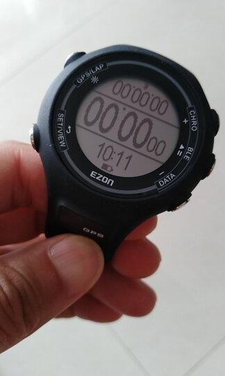 宜准(EZON) 电子手表E1智能心率监测表跑步计步户外运动男士女士手表gps轨迹 E1 男款青春蓝-E1B14 晒单图