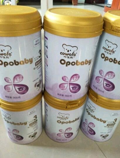咔哇熊(Cowala) 超级金装幼儿配方奶粉900g新西兰原罐进口3段 OPO奶粉3段 晒单图