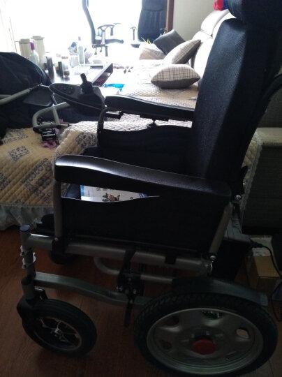 奔瑞(BENRUI) 奔瑞电动轮椅车可折叠轻便全躺老年残疾人自动智能四轮车 6001高靠背前后轮减震款【12安锂电池】不可后躺 晒单图