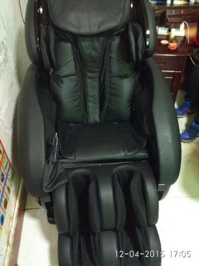 荣泰(ROTAI)8302S按摩椅太空舱家用全身 黑色 晒单图