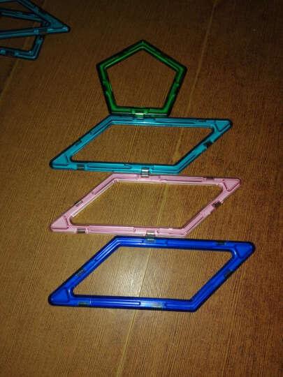 科博磁力片配件散片单片 三角形 正方形遥控车轮 支架    车轮组合  直角梯形 平行四边形 晒单图
