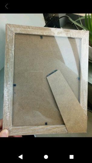 亮丽(SPLENDID)相框 摆台 6英寸象牙白色 简约婚纱宝宝相片框 照片框 挂台画框 晒单图