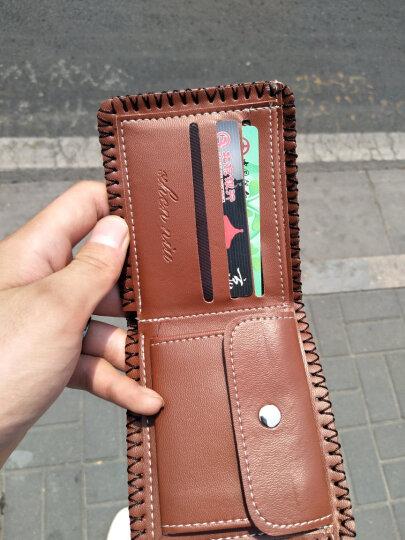 爱满日韩版潮流个性创意潮人男士钱包青年青少年中学生短款折叠手工包 款式十二 晒单图