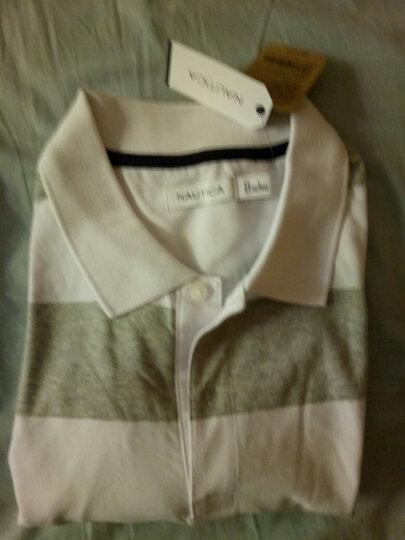 诺帝卡 NAUTICA 男士 新款 短袖针织POLO衫 KM8101(多色可选) 浅黄色 7MF XXL 晒单图