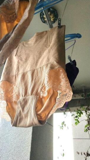 金多金 收腹裤秋季瘦身衣产后束身内裤高腰蕾丝美体无缝女士内裤 肤色+肤色 XL/XXL 晒单图
