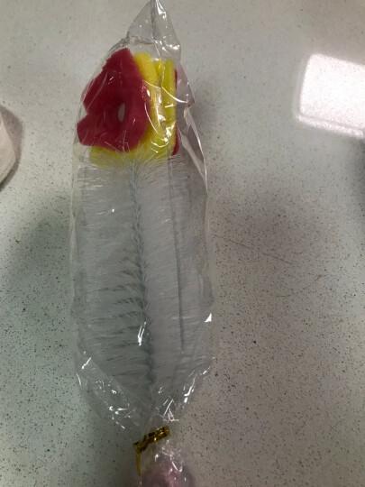 美丽雅 杯子清洁刷 长柄奶瓶刷子洗杯子涮子 厨房用刷玻璃杯刷 晒单图