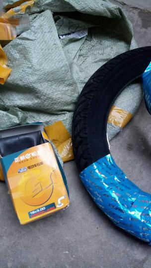 正新轮胎 16X3.0 电动车三轮车自行车摩托车 C-1488电瓶车耐磨轮胎 单独内胎一个 晒单图