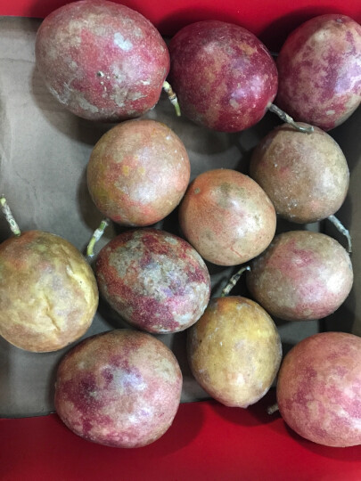 玖原农珍 广西百香果12个 水果礼盒 优选大果70-100g 晒单图