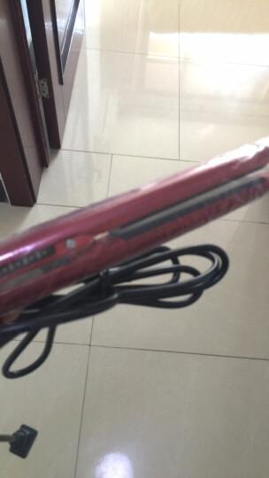 FBT 负离子 陶瓷 直卷两用 直发器 卷发器 直发夹板 刘海内扣不伤发梨花造型美发工具 包邮 红色 晒单图