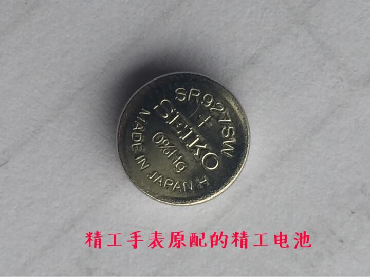 盛诺美 手表电池日本原装进口纽扣电池SEIKO精工SEIZAIKEN 1.55V 373/SR916SW 晒单图