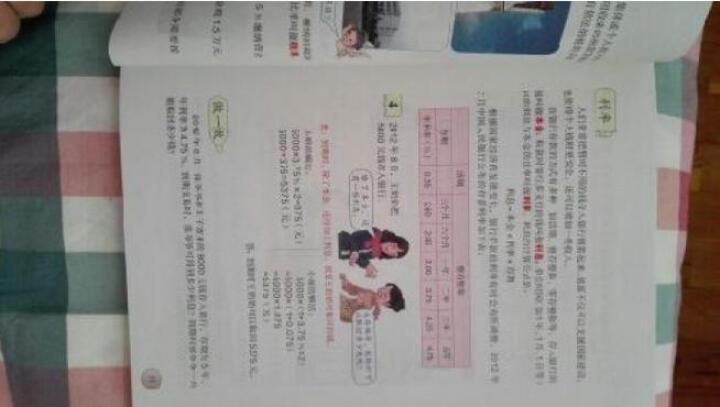 人教版6六年级下册数学书小学六年级数学下册课本教材教科书 晒单图