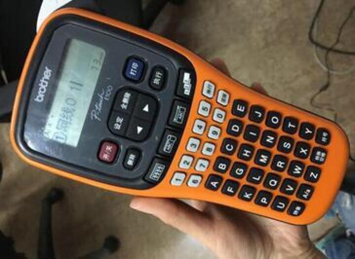兄弟(brother) PT-E100B 手持式入门标签打印机(单机版) 包教包会-技术支持 晒单图