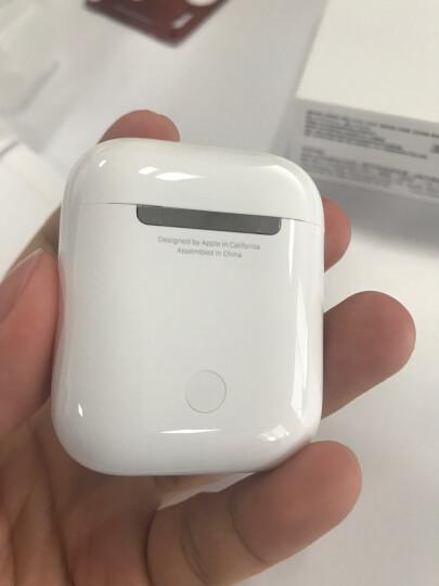 苹果(APPLE) airpods蓝牙无线耳机1/2代 适用ipad2代/iphone 官方标配 Airpods配充电盒 W1芯片 晒单图
