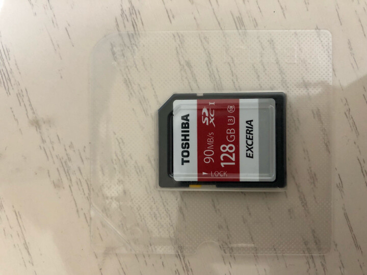 东芝(TOSHIBA)128GB 90M/S SDXC Class10 UHS-I U3极至瞬速存储卡 支持4K拍摄 晒单图