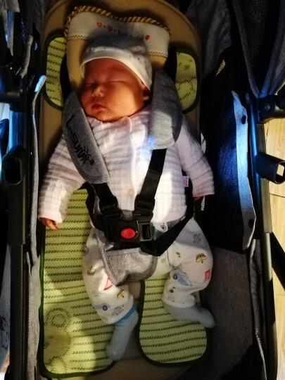 小太阳(L-SUN ) 婴儿推车 高景观童车避震折叠换向儿童手推车 可坐可躺婴儿车 亚麻灰色 晒单图