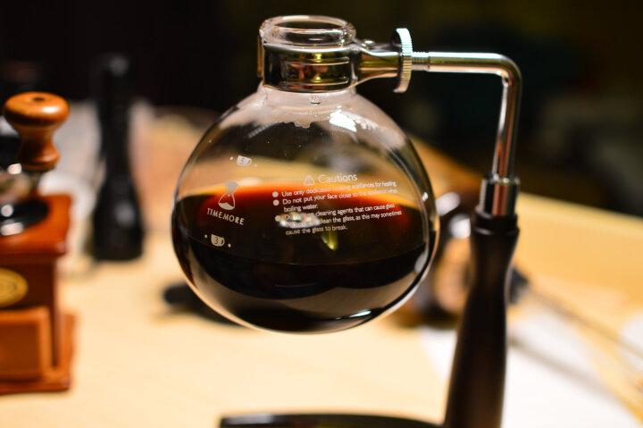 泰摩 虹吸式咖啡壶套装 家用手动煮咖啡机虹吸壶 手冲咖啡器具 升级款印记2.0(5人份) 晒单图