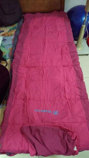 探路者(TOREAD) 睡袋 男女通用春夏户外露营登山防风保暖棉睡袋TECE80868 蔷薇红 晒单图