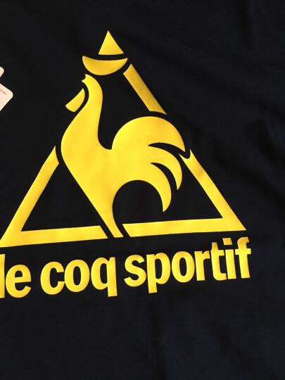 lecoqsportif乐卡克法国公鸡男休闲运动T恤CBT-0101171 黑色/BLK L 晒单图