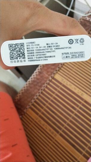 品胜m50000充电宝20000毫安移动电源超薄便携大容量适用于苹果vivo华为手机电池 聚合物超薄10000毫安金色 晒单图