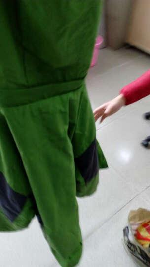 童装男童秋装外套儿童冲锋衣可拆卸韩版男童加厚三合一户外服学生装中大童男装开衫外套运动上衣 藏青色 130 晒单图
