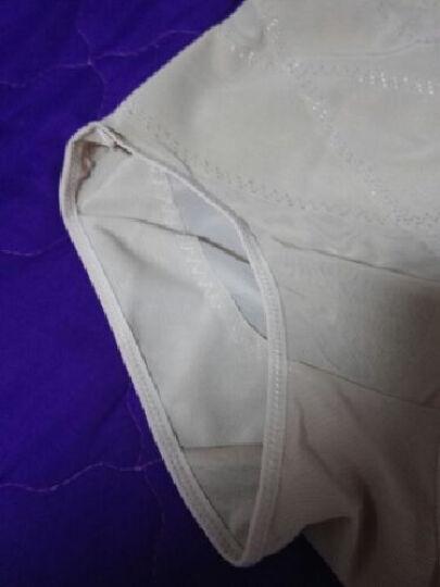 纤姿蓓 【2件装】女士收腹裤 高腰美体塑身裤 产后无痕女士内裤LS11-2 肤色 2条装 XXXL 晒单图