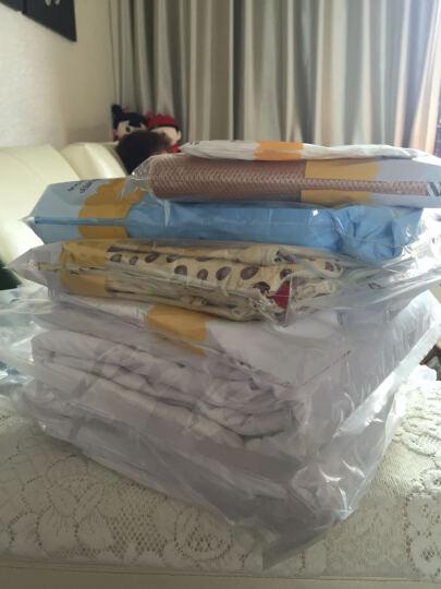 龙之涵 婴儿睡袋外罩  纯棉睡袋防踢被换洗外罩 不含内胆 自由鲨鱼 80*120cm睡袋外罩 晒单图
