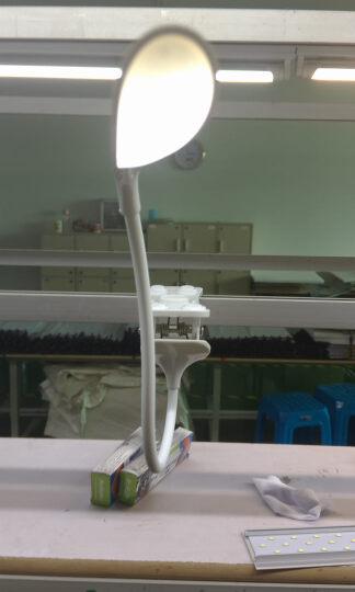 阔景 儿童床头灯夹子台灯 可充电调光LED护眼台灯学习灯学生宿舍阅读灯充电台夹灯限时促销 夹子款可充电无插头 颜色 晒单图
