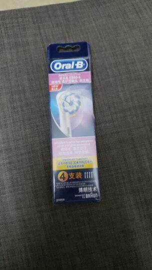 博朗 欧乐B(Oralb)EB60-4 超细毛电动牙刷头 4支装 晒单图